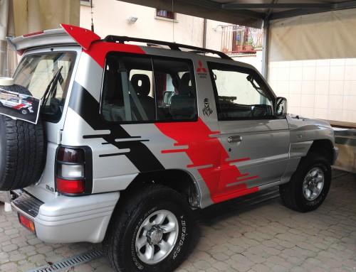 Riproduzione adesivi Mitsubishi Pajero