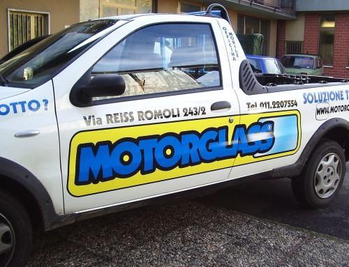 Pubblicità vettura Motorglass