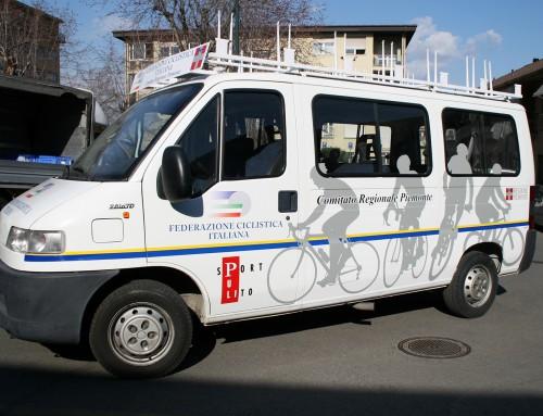 Pubblicità automezzo per Associazione Sportiva ciclisti