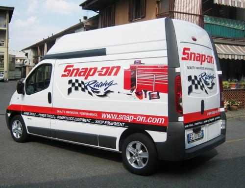 Pubblicità furgone SnapOn Industrial