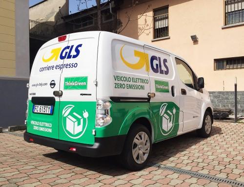 Pubblicità furgone GLS