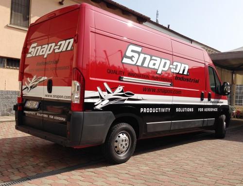 Pubblicità furgone Snap-On Industrial