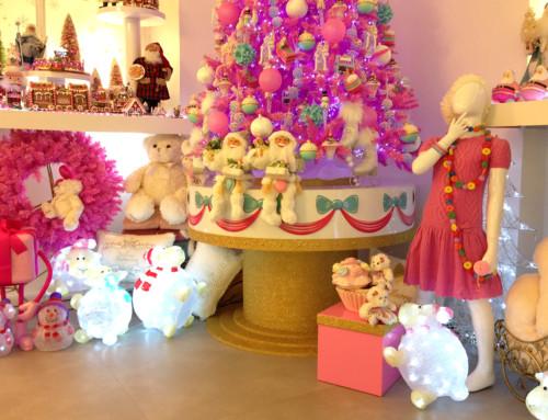 Creazione torta gigante per scenografia natalizia